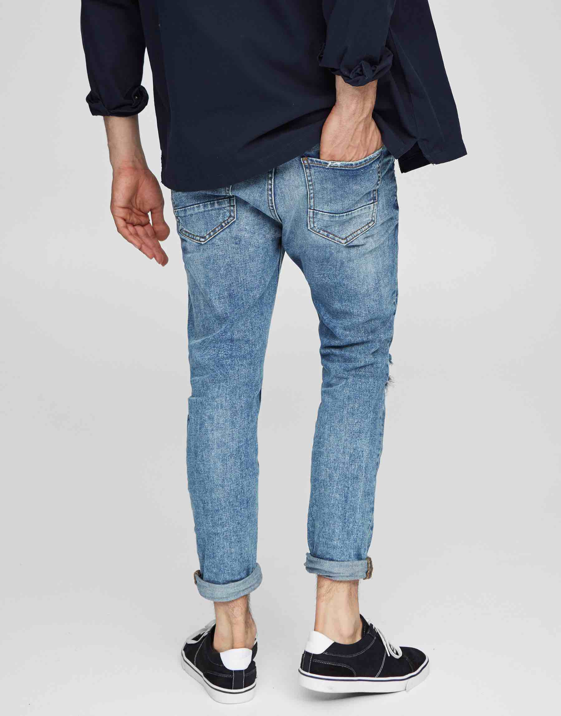 roll up jeans