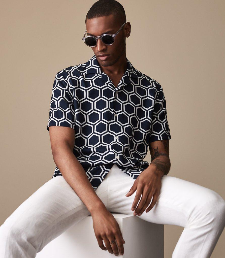 mens shirt prints